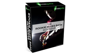 eBassGuitar The Rookie Blues Bass Intensive Box Shot