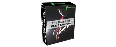 One lines Bass Guitar Courses