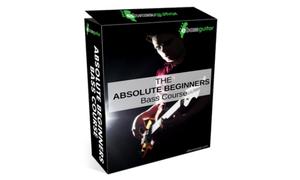 bass guitar beginners course